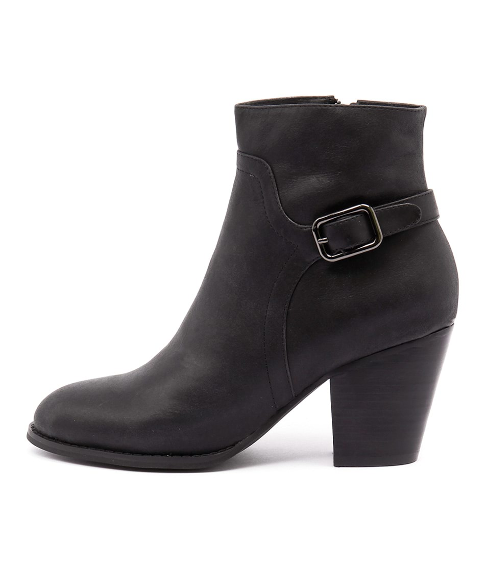 buy Django & Juliette Remedy Black Ankle Boots shop Django & Juliette Boots, Ankle Boots online