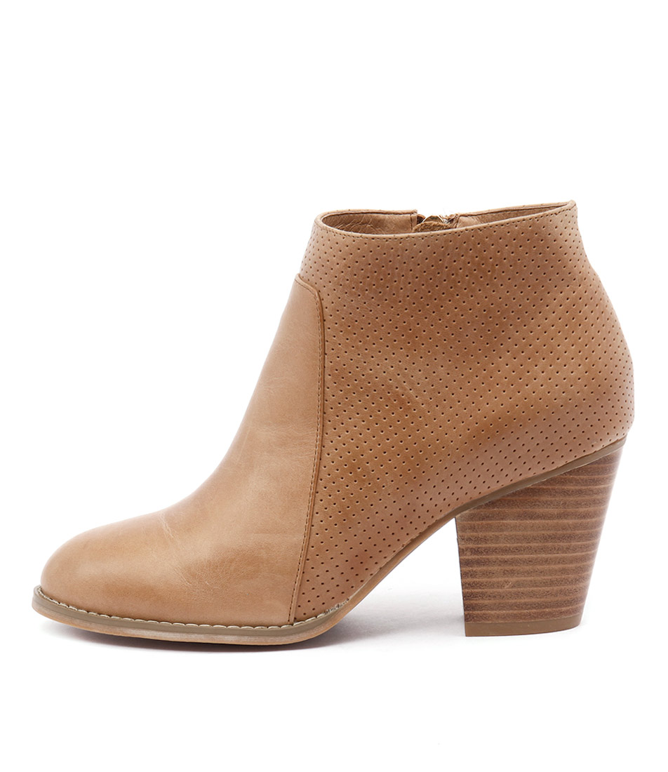 Django & Juliette Remote Tan Casual Ankle Boots buy  online