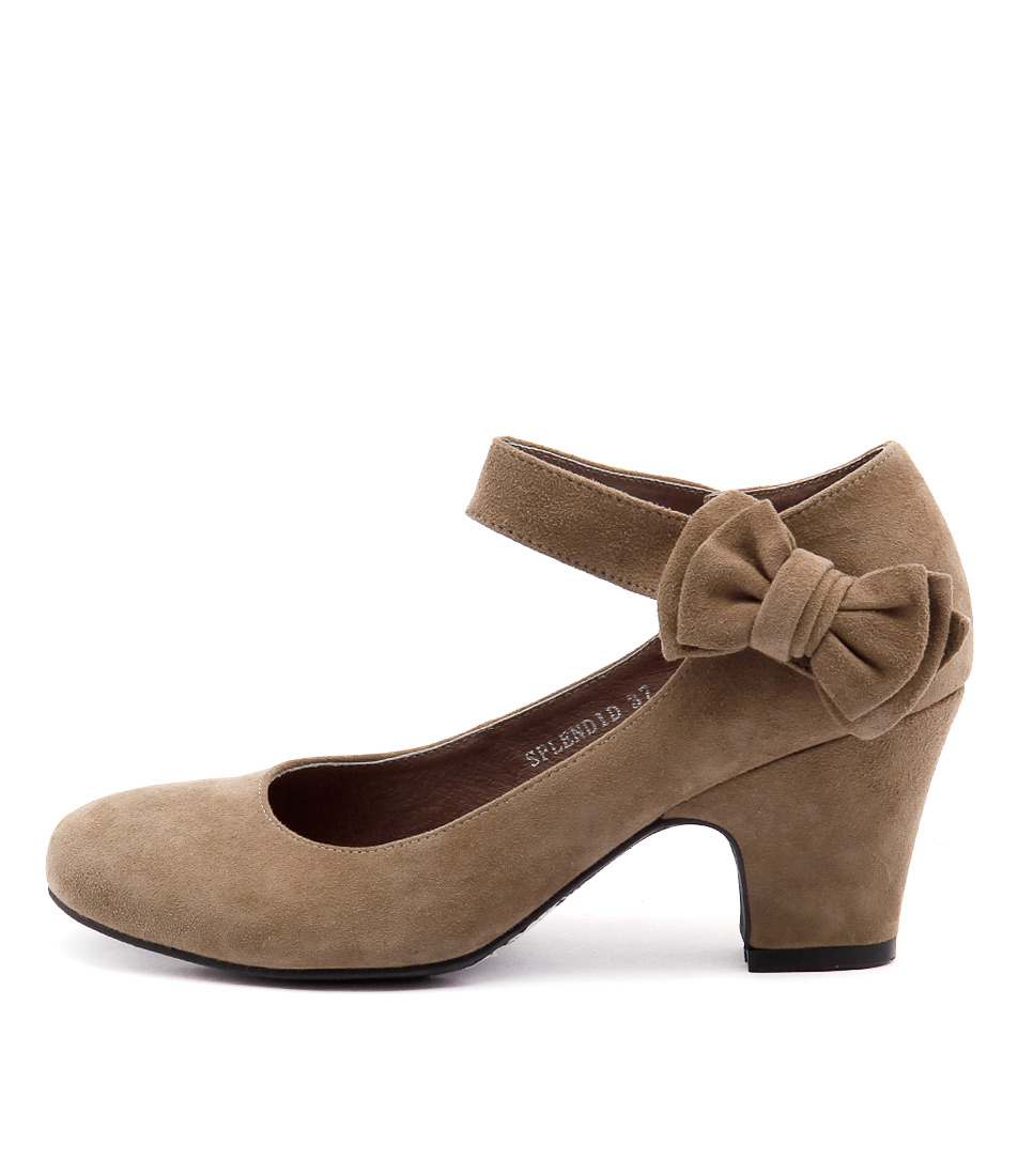 Photo of Django & Juliette Splendid Taupe High Heels womens shoes