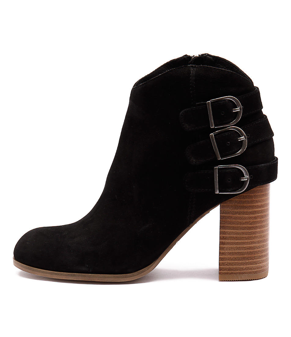 Photo of Django & Juliette Sensato Black Black Casual Ankle Boots shoes sales