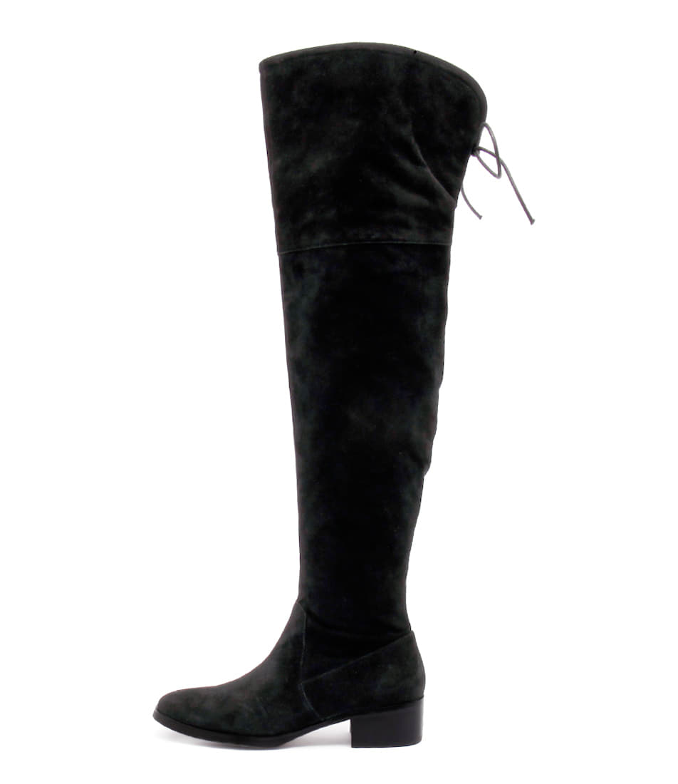 Django & Juliette Tingle Black Long Boots