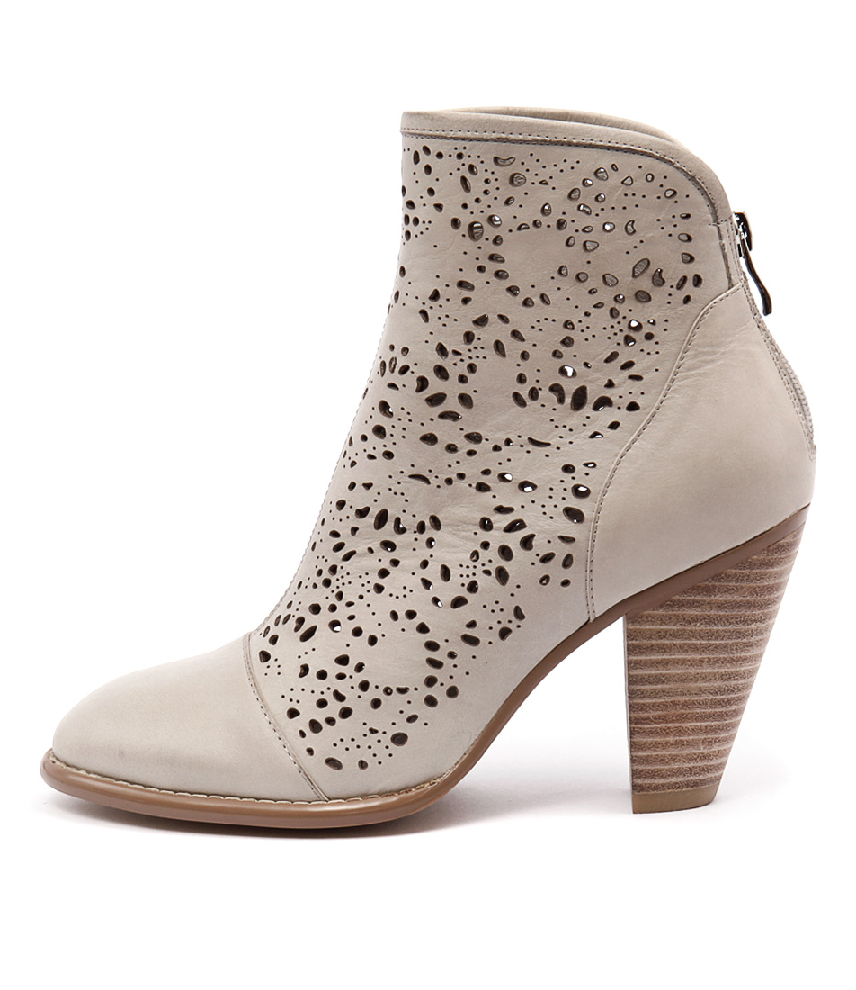 Django & Juliette Vizzy Misty Ankle Boots