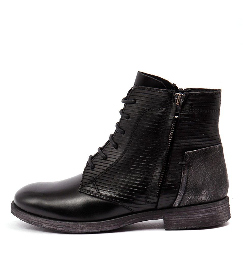 Django & Juliette Bily 907017 Black Black Boots