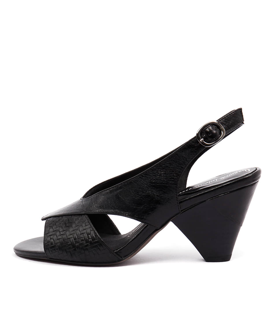 Django & Juliette Xcell Black Sandals