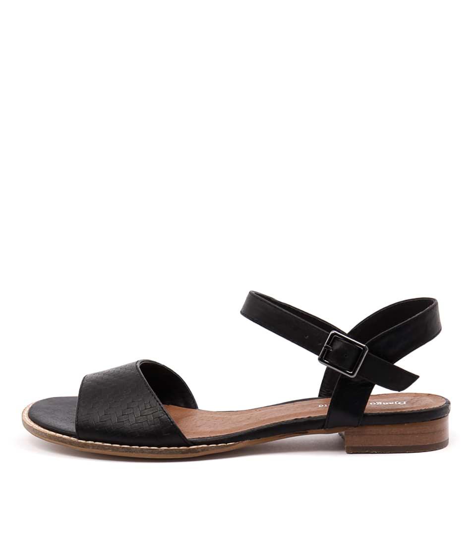 Django & Juliette Rill Black Sandals
