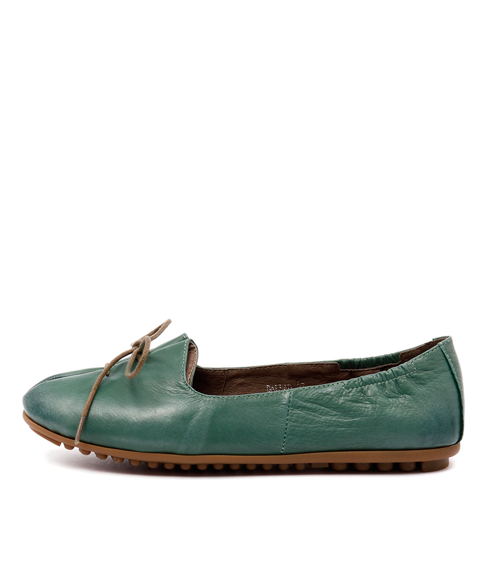 Django & Juliette Ballad Spearmint Flat Shoes