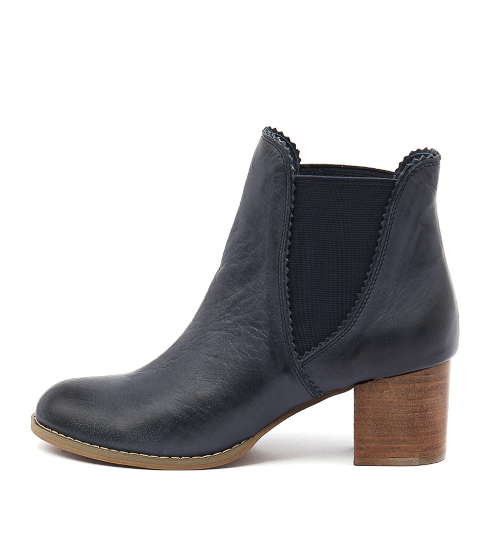 Buy Django & Juliette Sadore Navy Dress Ankle Boots online with free shipping