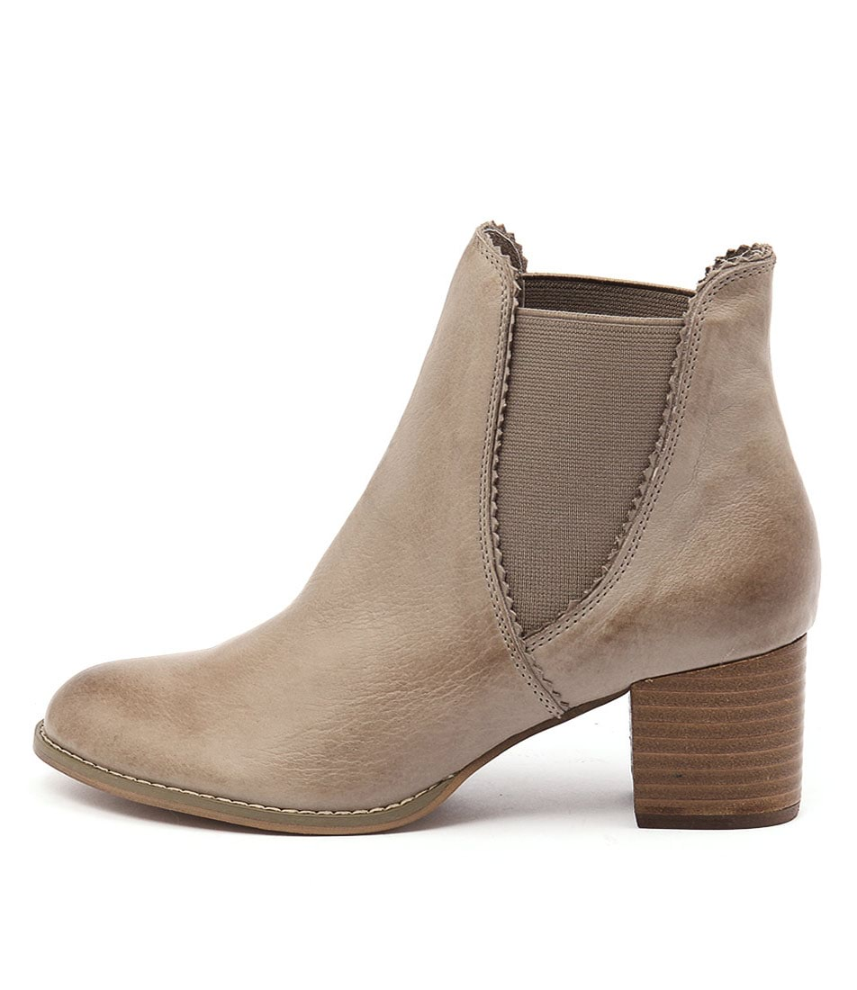 Buy Django & Juliette Sadore Taupe Ankle Boots online with free shipping