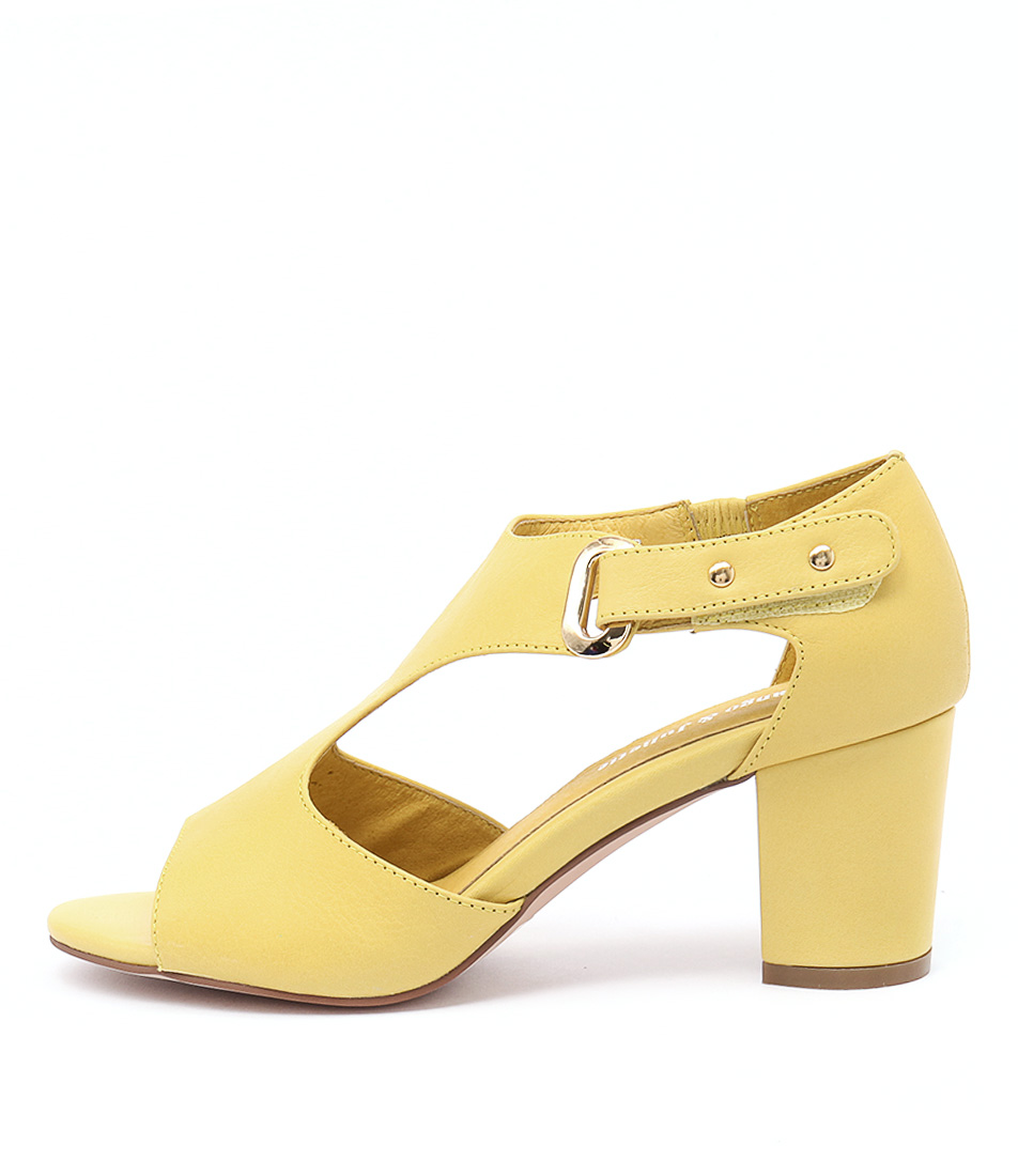 Django & Juliette Cecily Yellow Sandals