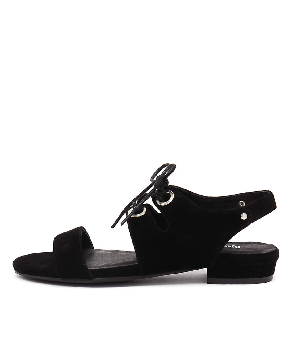 Django & Juliette Donside Black Sandals