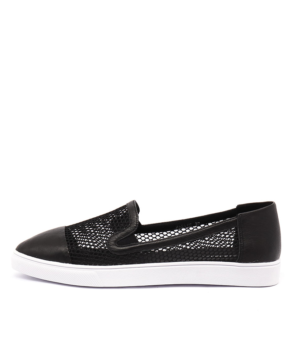 Django & Juliette Harvie Black Casual Flat Shoes