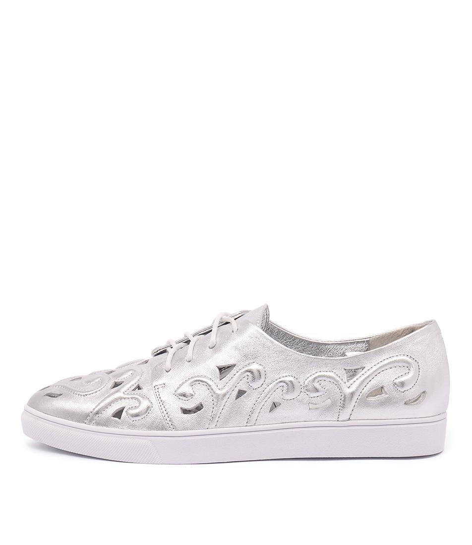 Django & Juliette Handy Silver Sneakers