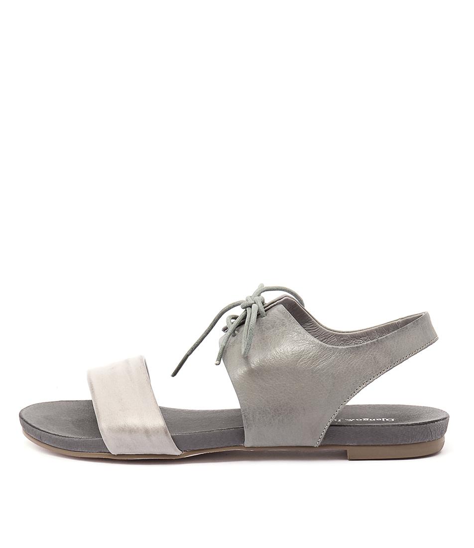 buy Django & Juliette James Misty Grey Sandals shop Django & Juliette Sandals online