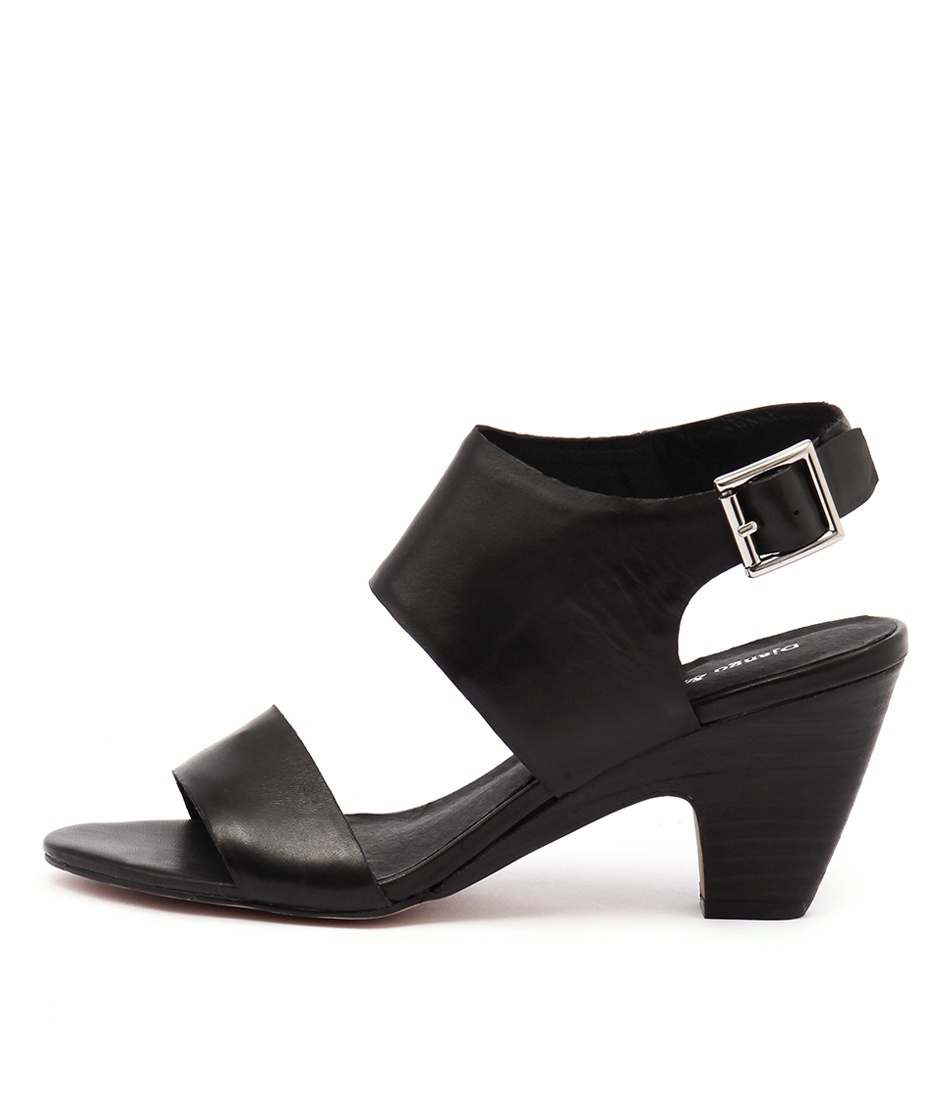 Django & Juliette Kleg Black Sandals