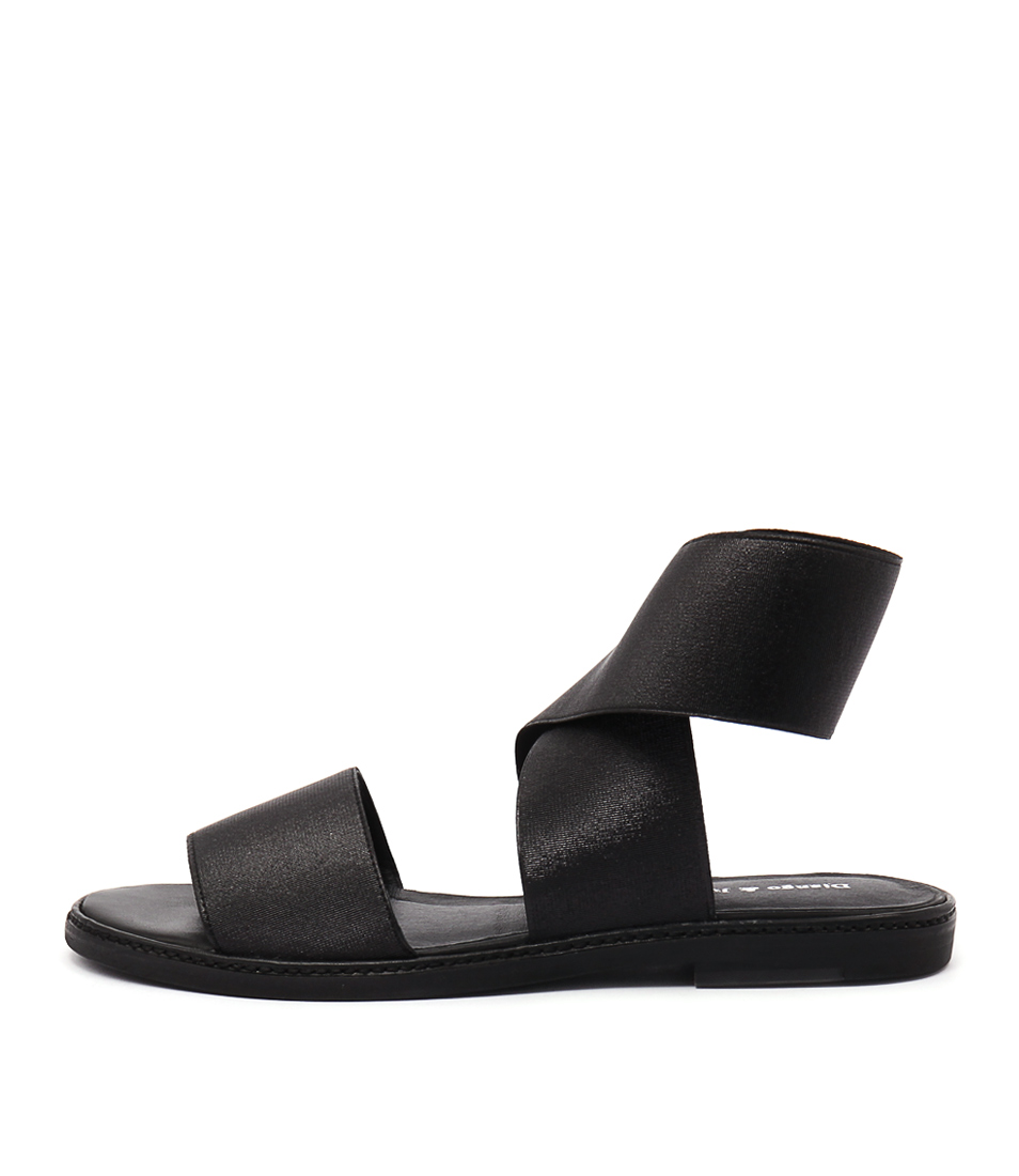 Django & Juliette Narina Black Sandals
