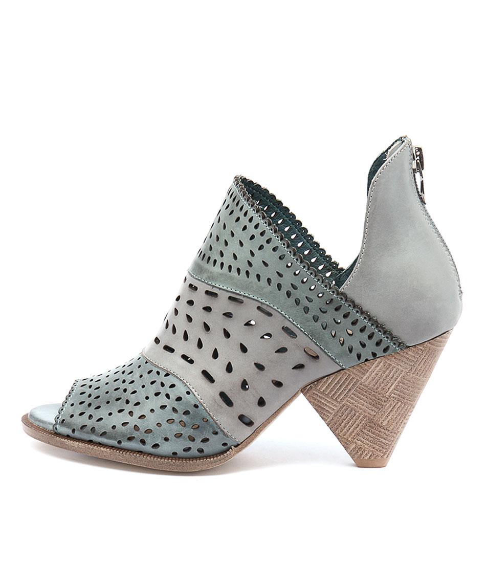 Django & Juliette Ortam Ocean Multi Ankle Boots
