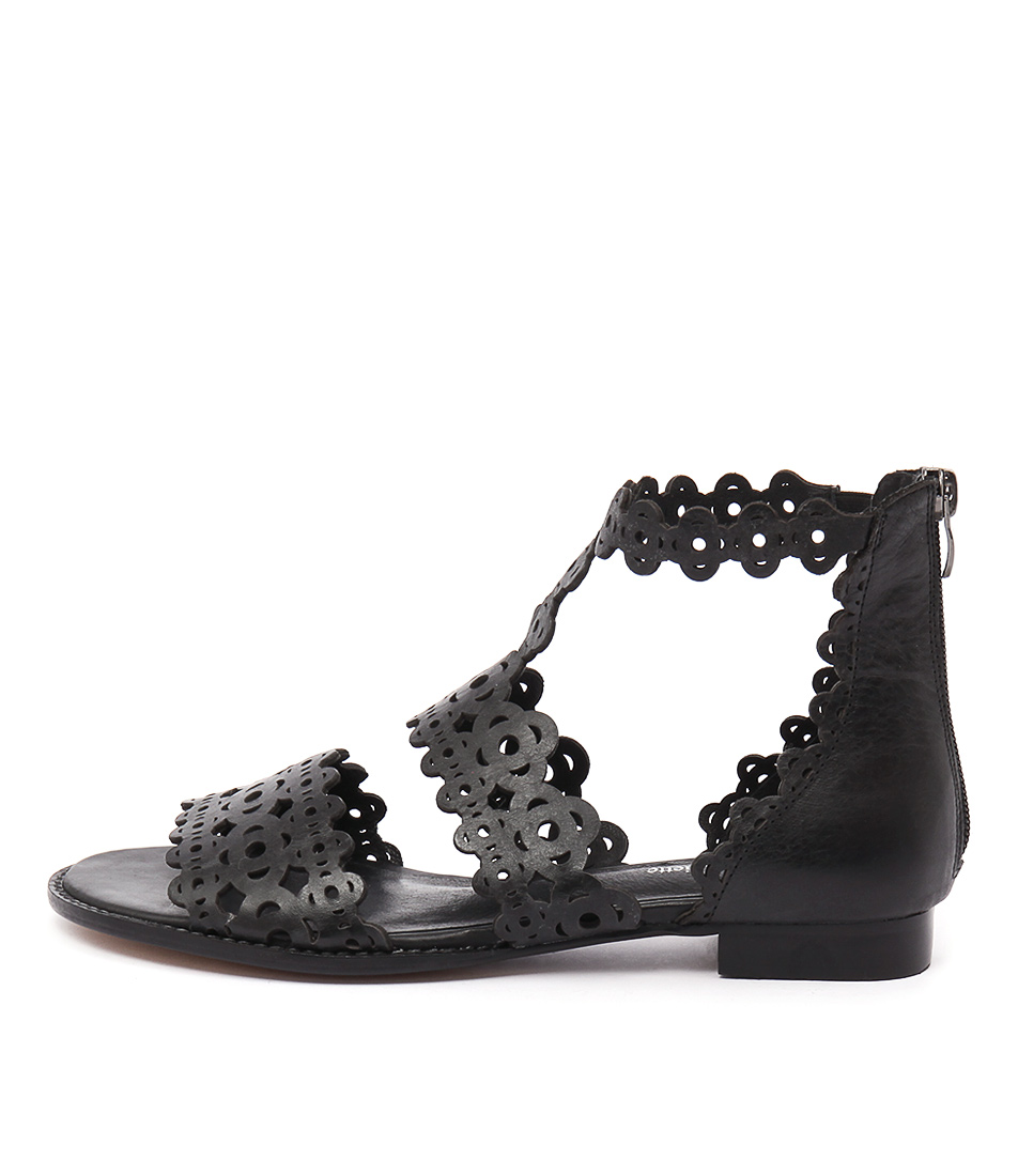 Django & Juliette Reama Black Sandals buy Sandals online