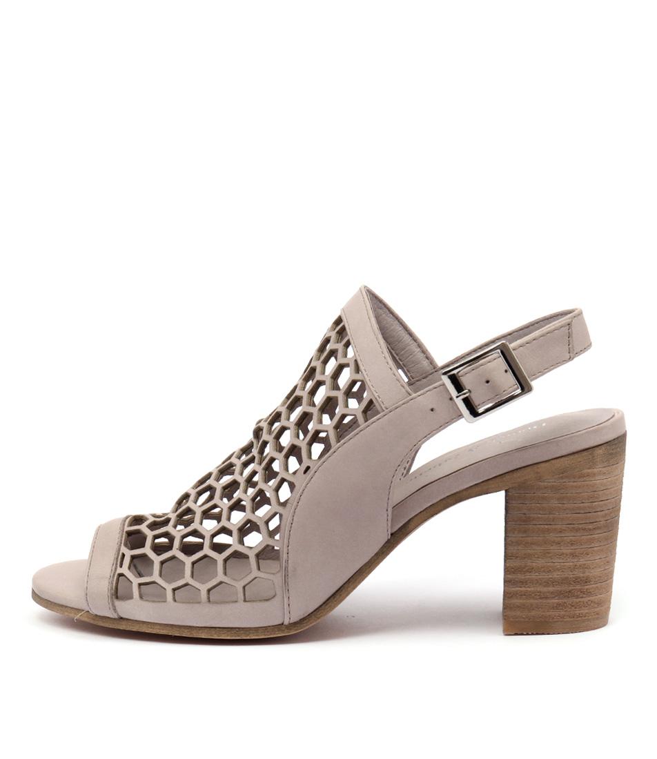 Django & Juliette Vikki Nougat Sandals