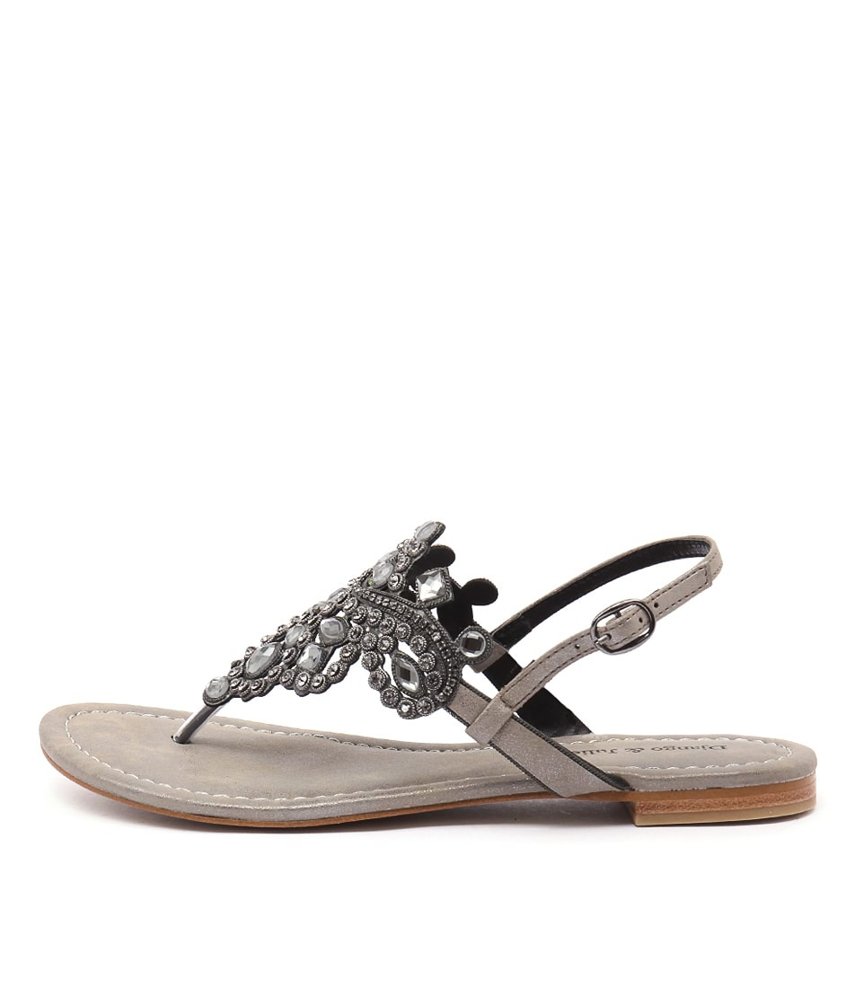 Django & Juliette 200 D Pewter Sandals