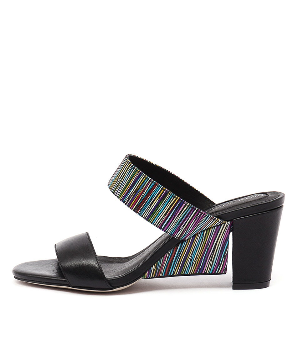 Django & Juliette Dekker Black Sandals