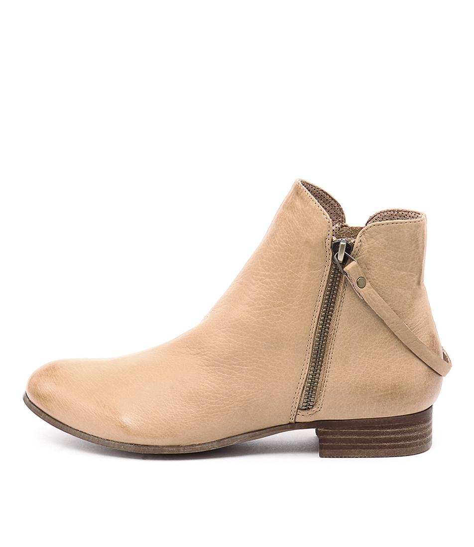 buy Django & Juliette Fales Camel Ankle Boots shop Django & Juliette Boots, Ankle Boots online