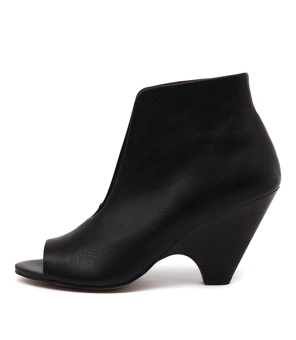 Django & Juliette Bess Black Boots Ankle Boots