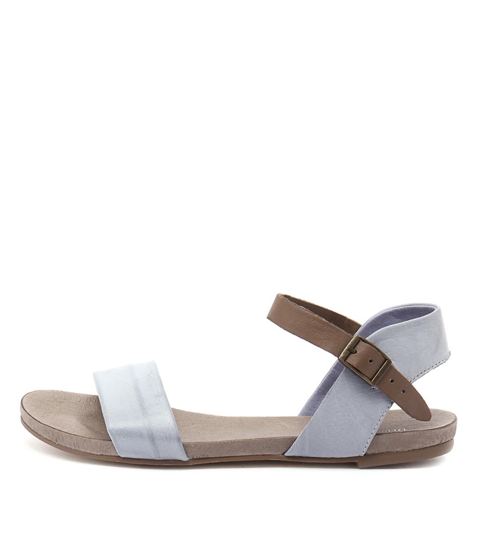 Django & Juliette Jinnit Steel Taupe Sandals