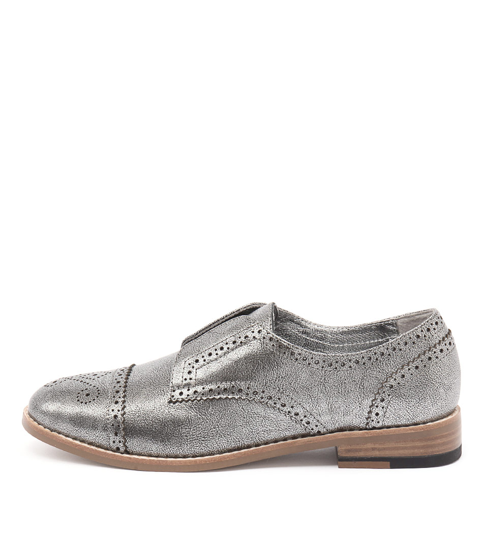 Django & Juliette Lanes Silver Flat Shoes