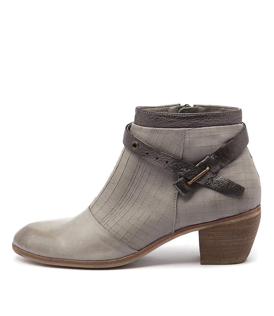 Django & Juliette Mersen Grey Grey Pewter Boots