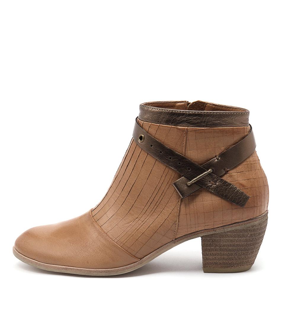 Django & Juliette Mersen Dk Tan Dk Tan Bronze Boots