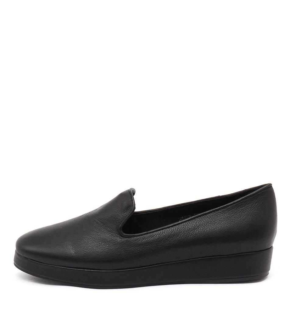 Django & Juliette Neeve Black Casual Flat Shoes