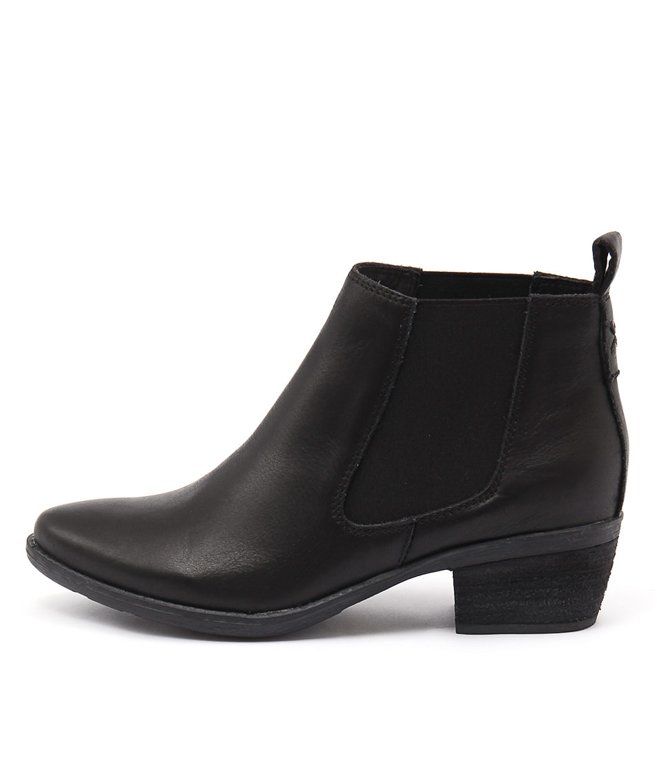 Django & Juliette Sultan Black Ankle Boots