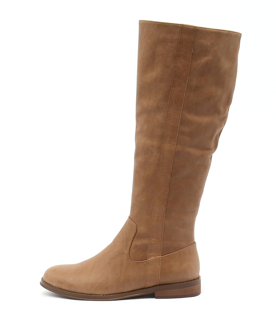 Django & Juliette Yarari Tan Casual Long Boots