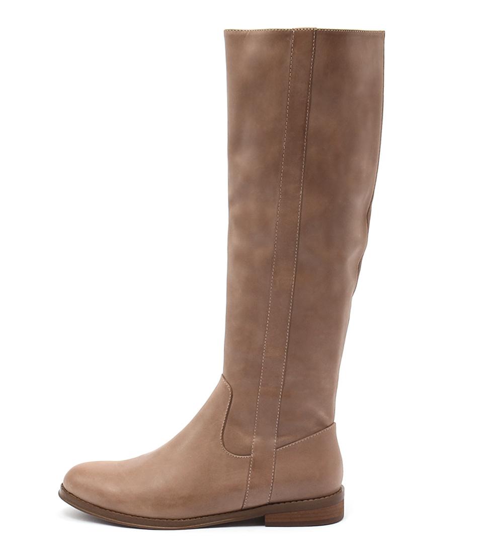 Django & Juliette Yarari Latte Long Boots