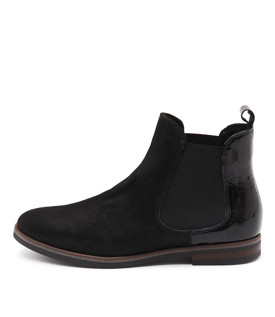 Django & Juliette 54 A 005 Nero (Black) Casual Ankle Boots