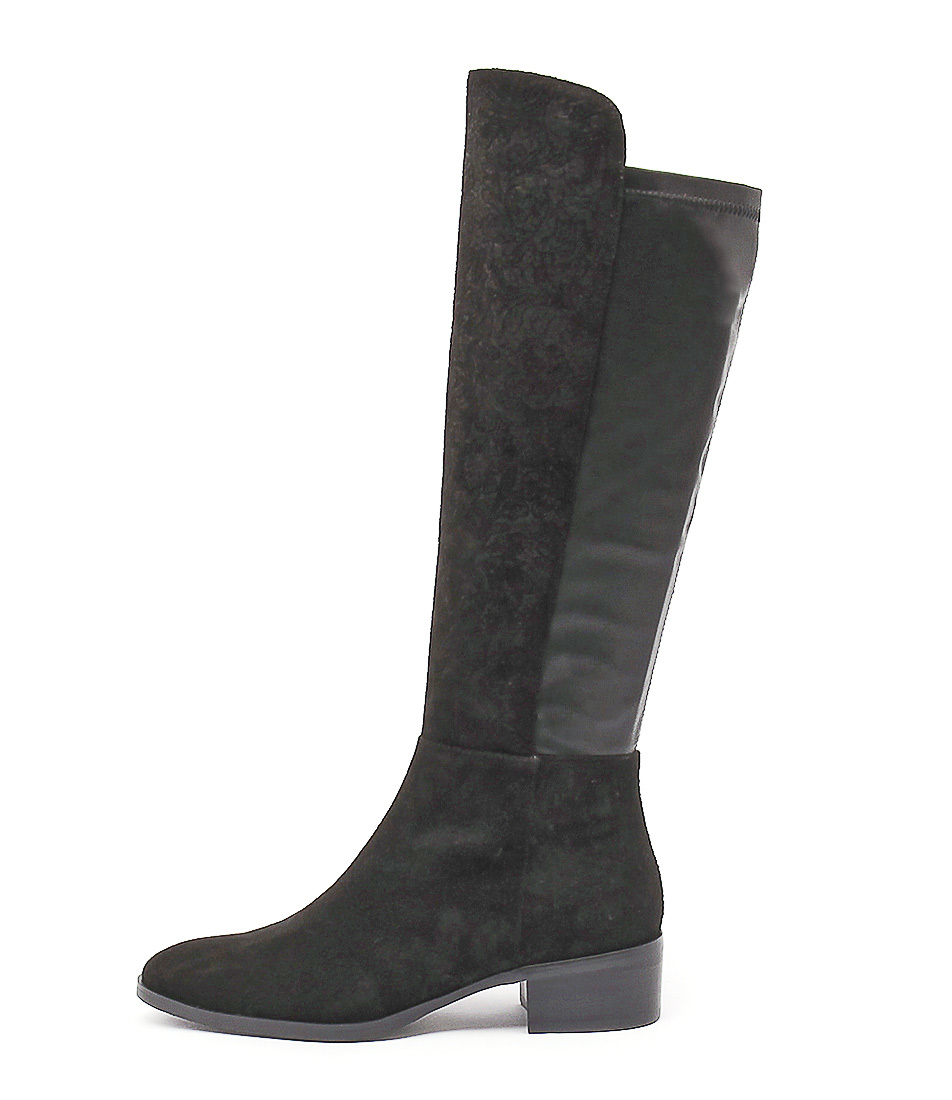 Django & Juliette Tetley Black Long Boots