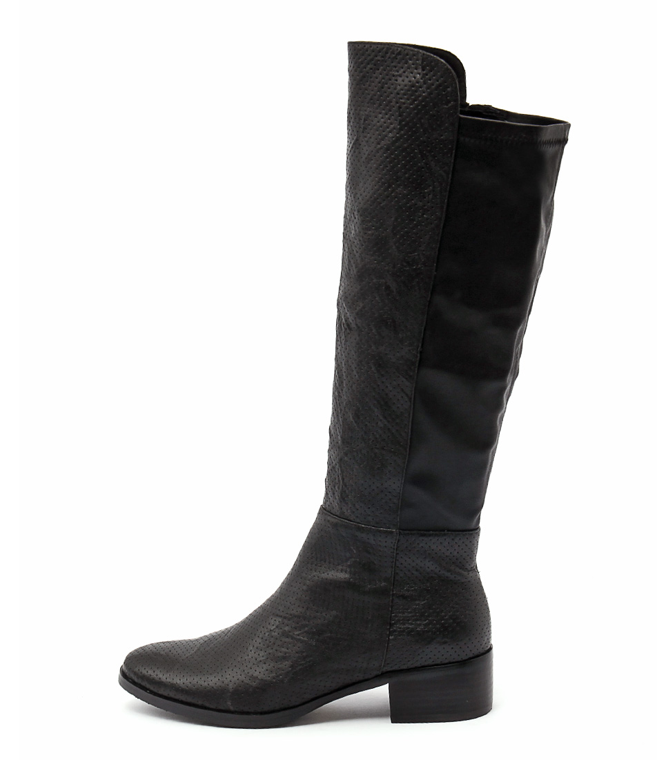 Django & Juliette Tipton Black Long Boots