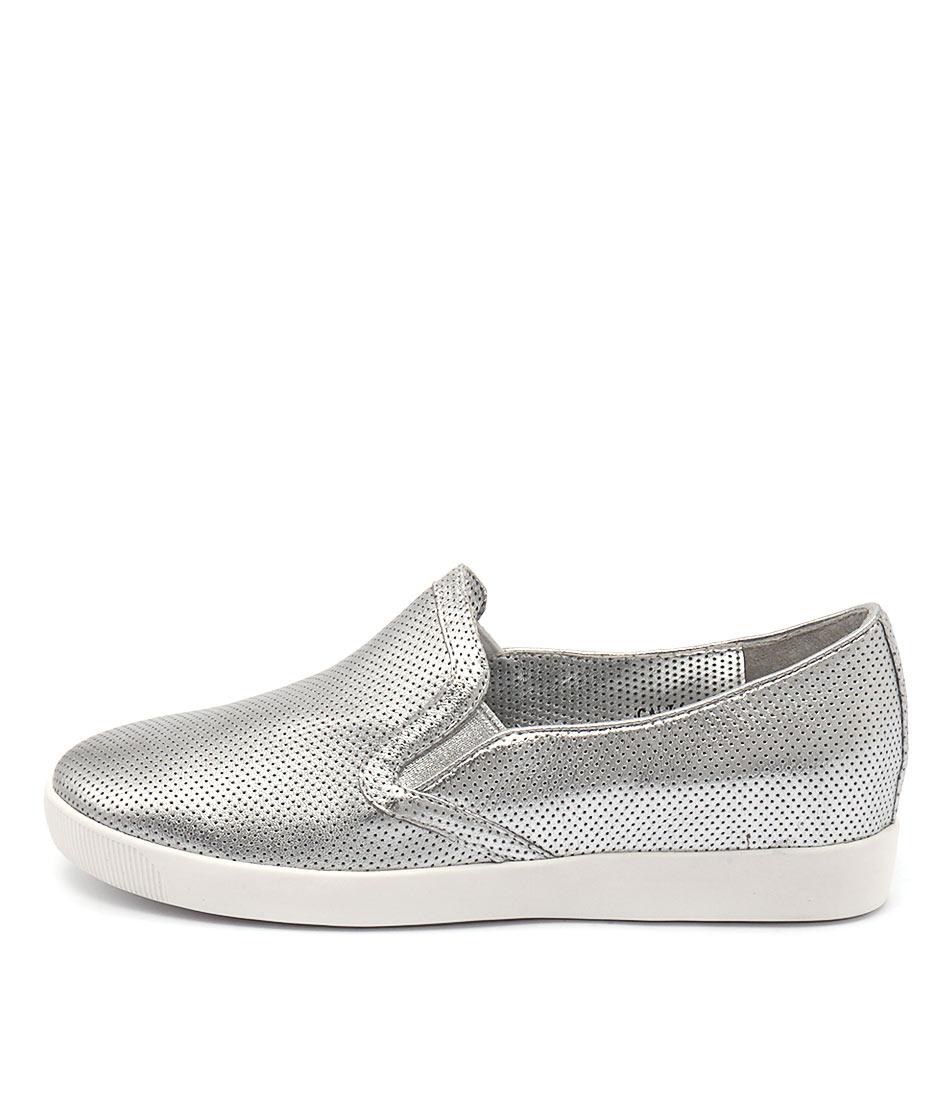 Django & Juliette Galia Silver Shoes