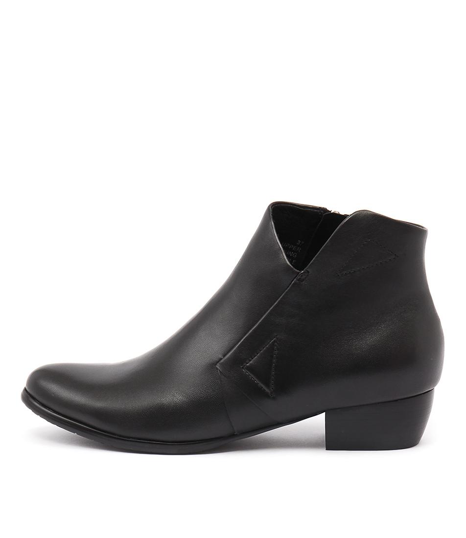 Django & Juliette Tafia Black Boots