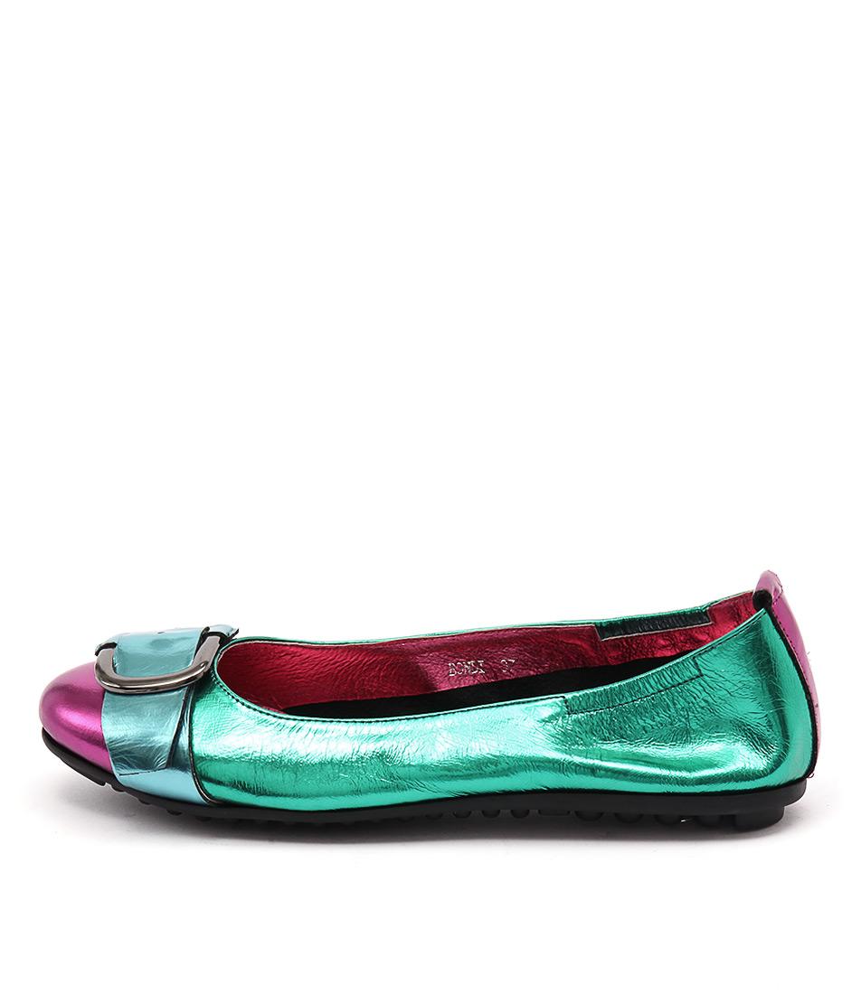Django & Juliette Bondi Spearmint Casual Flat Shoes