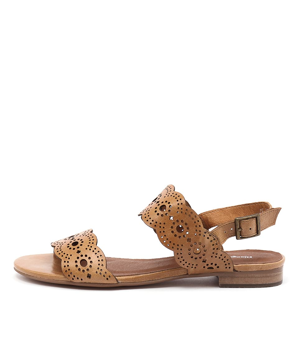 Django & Juliette Padma Tan Casual Flat Sandals buy  online