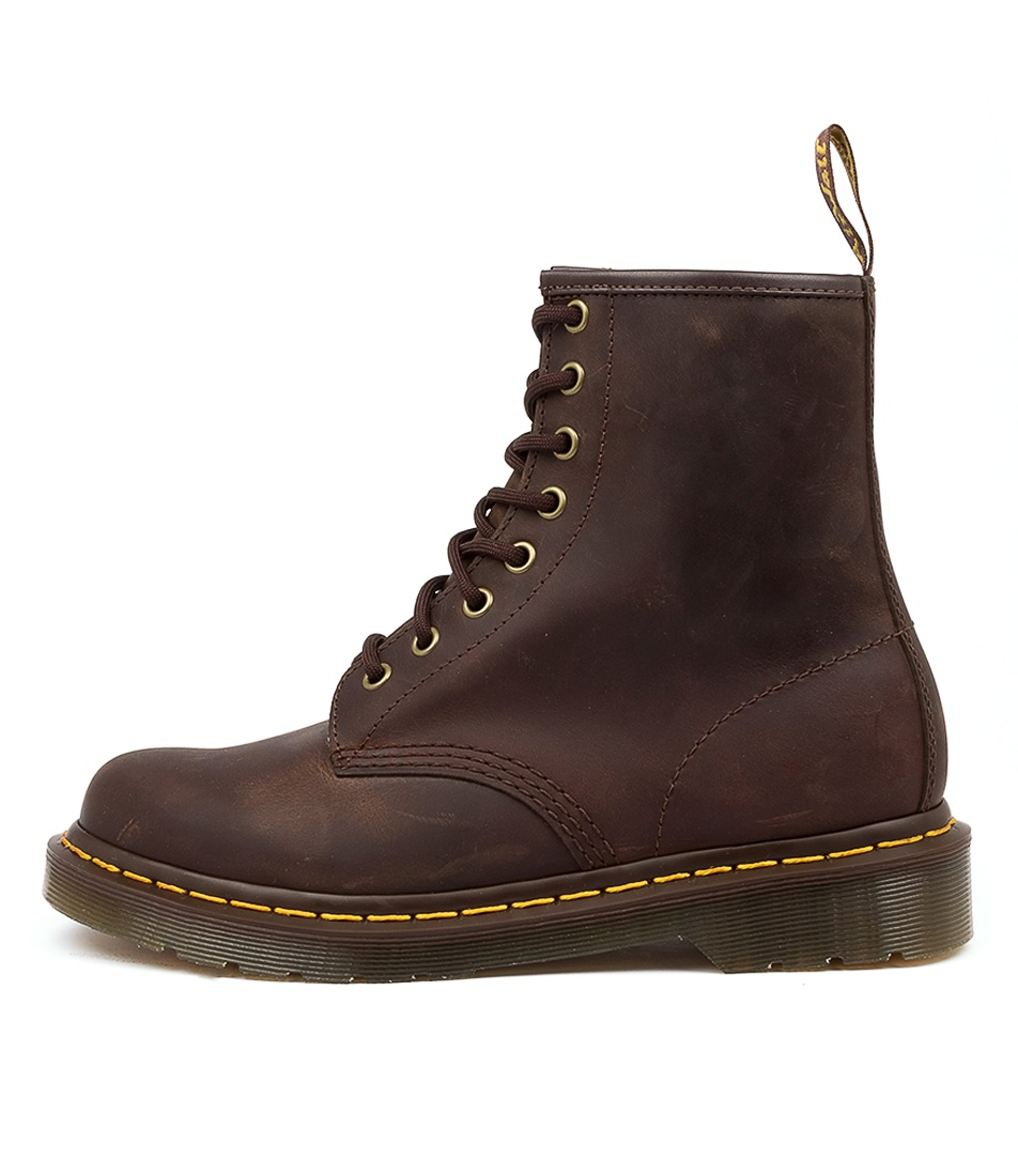 Buy Dr Marten 1460 8 Eye Boot Gaucho Ankle Boots online with free shipping