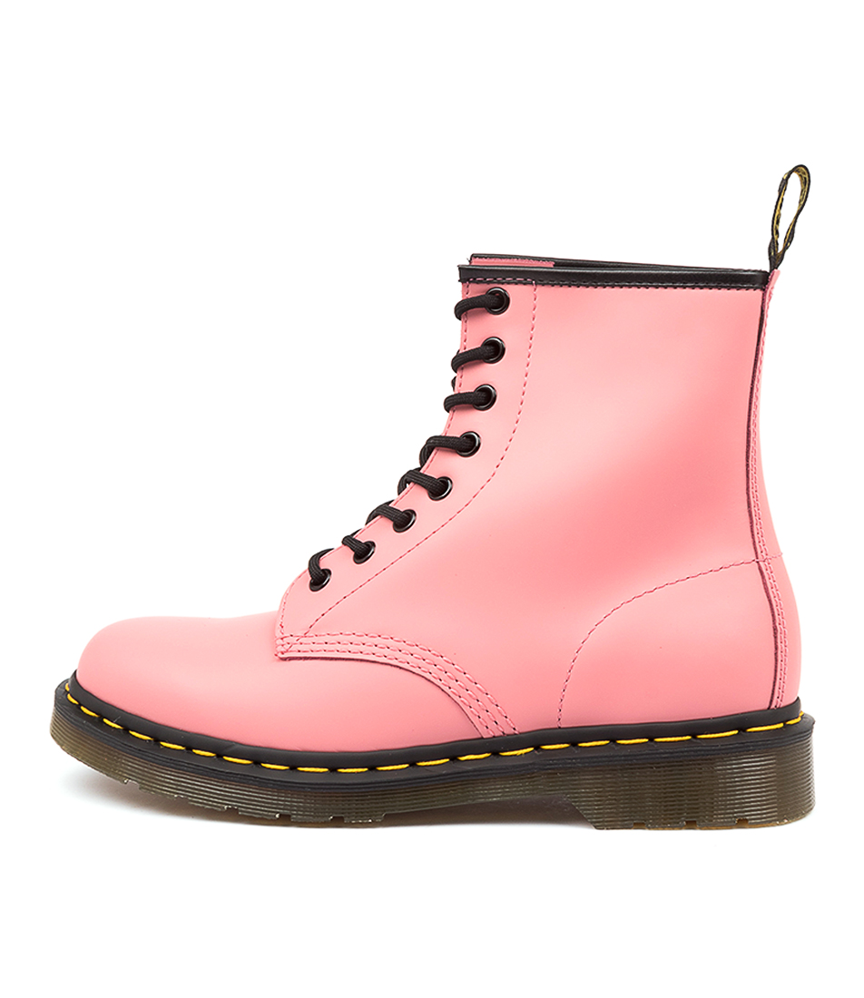 Buy Dr Marten 1460 8 Eye Boot Acid Pink Ankle Boots online with free shipping
