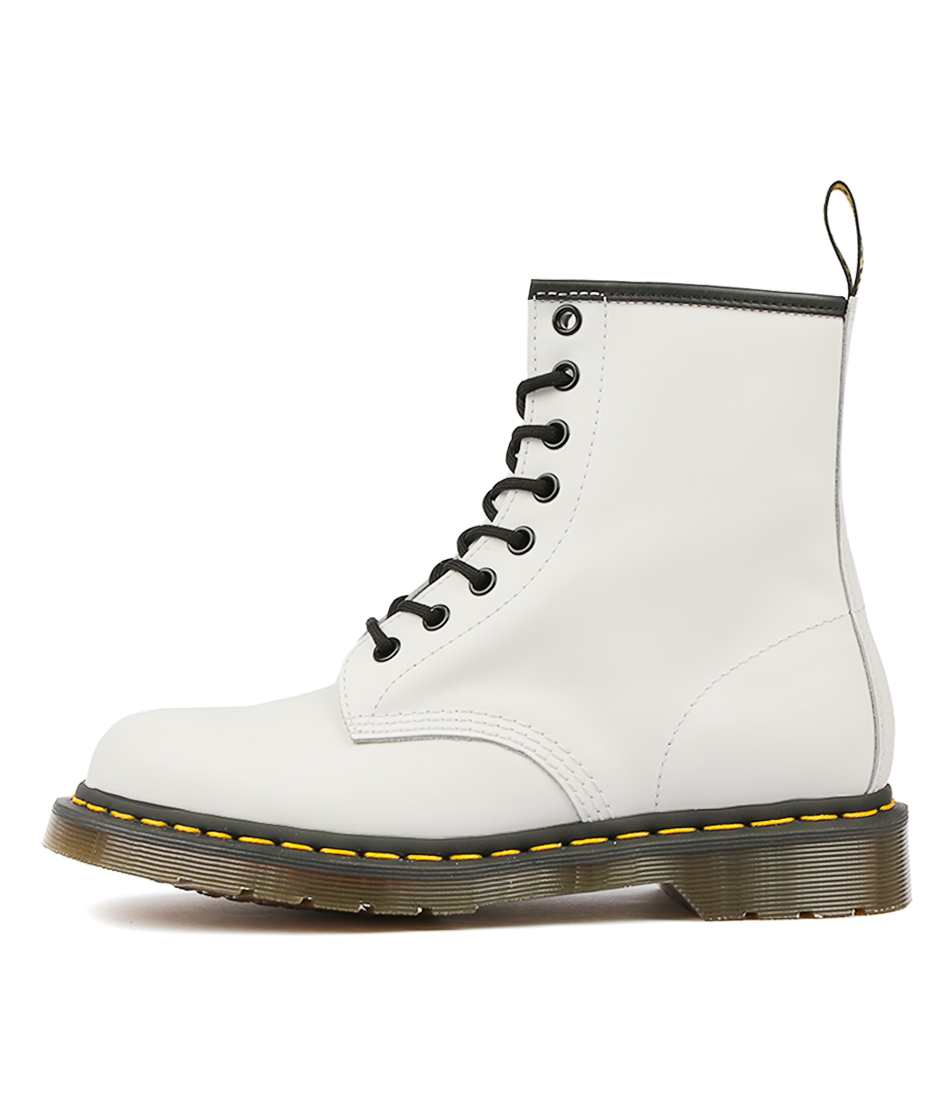 7df1ea7ec33 Details about New Dr Marten 1460 8 Eye Boot White Womens Shoes Casual Boots  Ankle