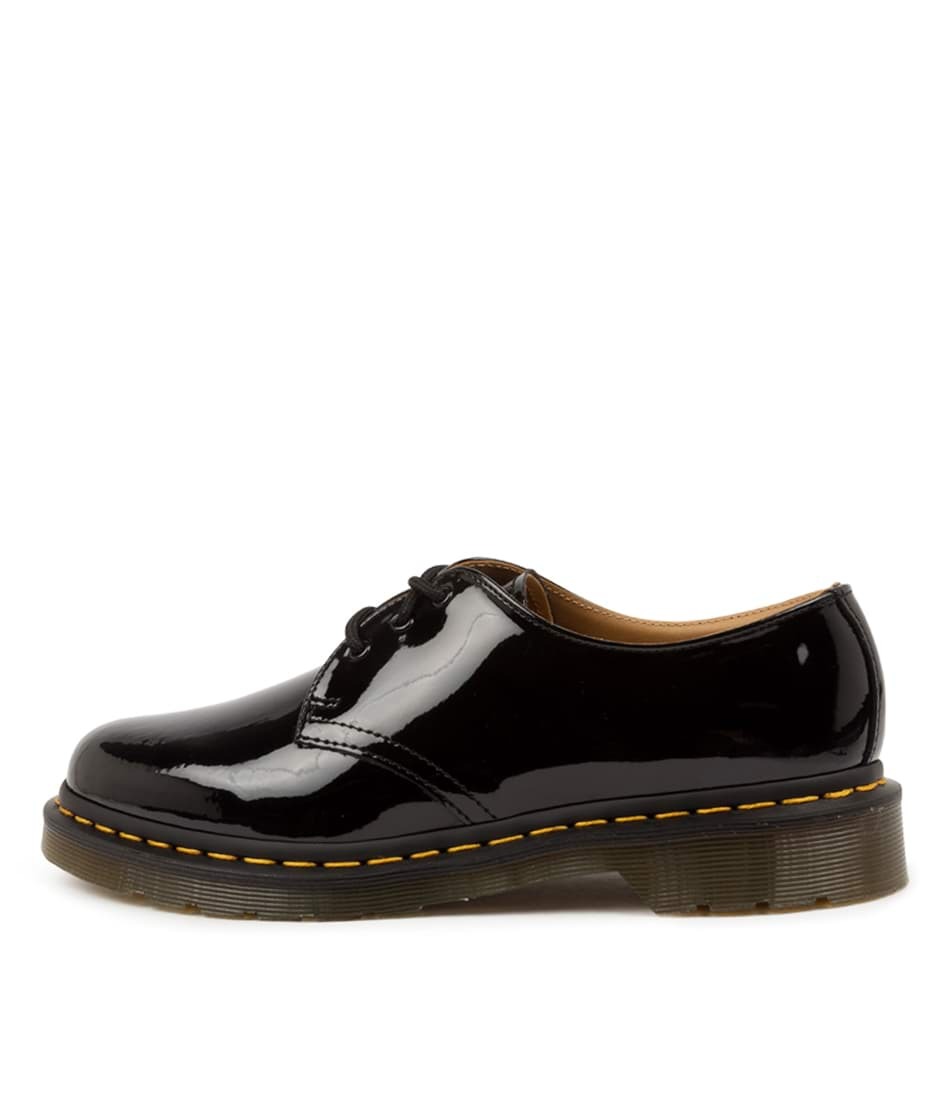 Buy Dr Marten 1461 3 Eye Shoe Black Flats online with free shipping