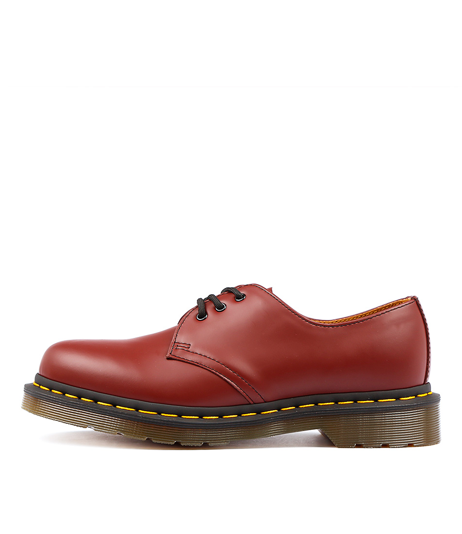 Dr Marten 1461 3 Eye Shoe Cherry Flat Shoes