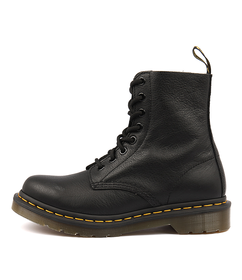 Buy Dr Marten Pascal 8 Eye Boot Black Ankle Boots online with free shipping