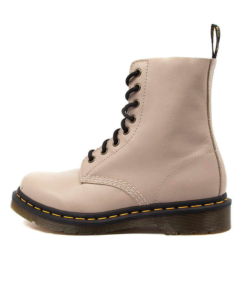 Buy Dr Marten Pascal 8 Eye Boot Natural Ankle Boots online with free shipping