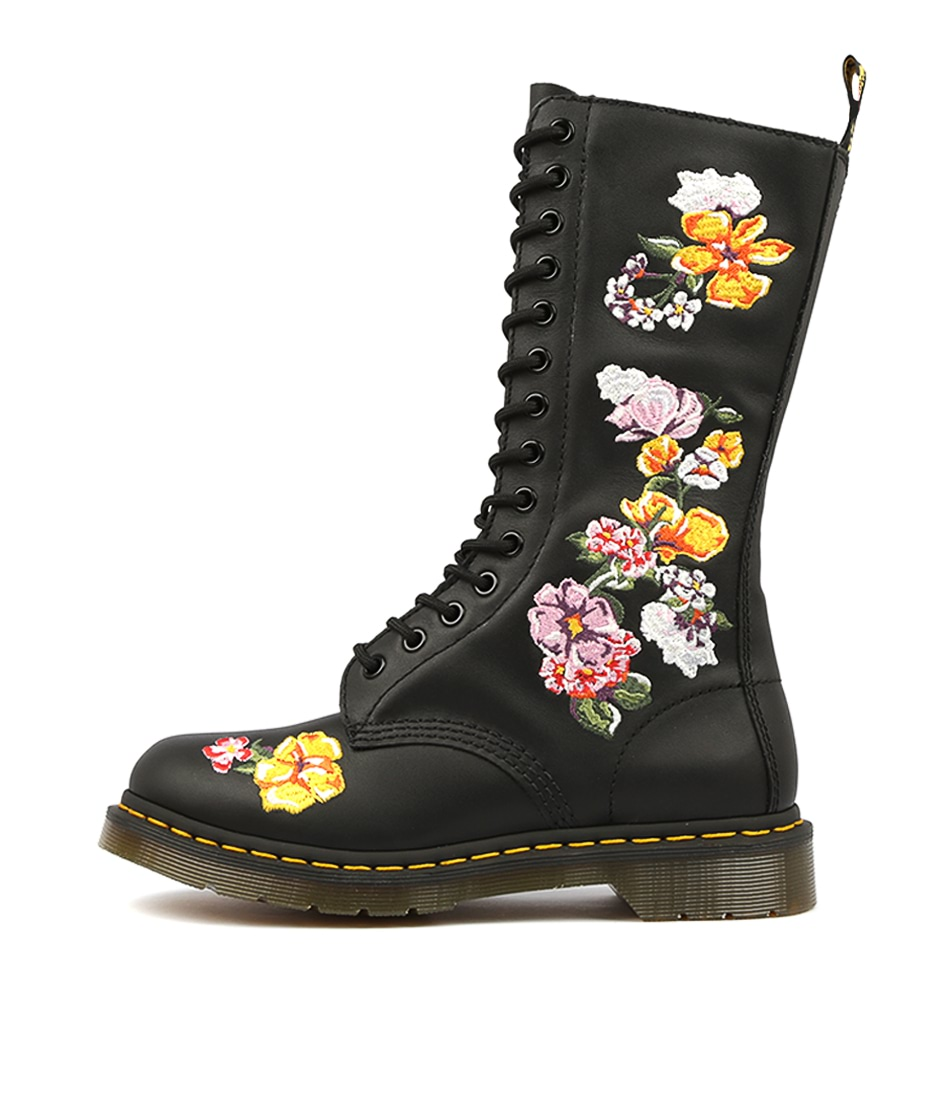 Buy Dr Marten 1914 Vonda Ii Black Casual Calf Boots online with free shipping
