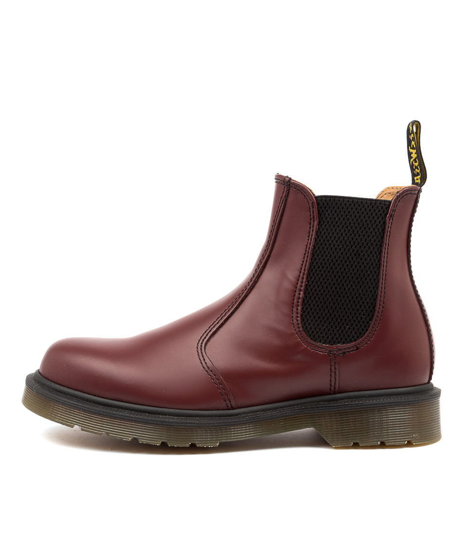 Buy Dr Marten 2976 Chelsea Womens Cherry Red Ankle Boots online with free shipping